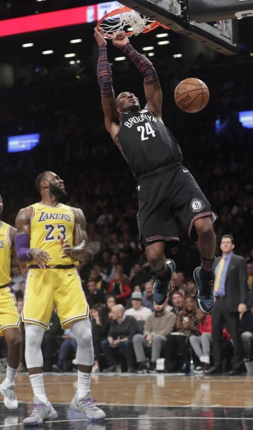 Nets resisten embestida de Lakers y suman 6 triunfos en fila