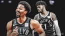 Nets' D'Angelo Russell refers to him and Spencer Dinwiddie as a 'two headed snake'