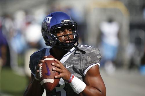Mizzou signs former TCU starting quarterback Robinson