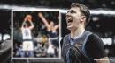 Video: Mavs' Luka Doncic trash talks Nuggets fans after big 3-pointer