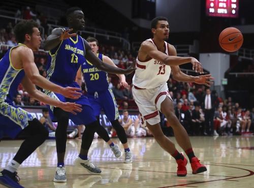 Da Silva scores 23 points in Stanford's win over Spartans