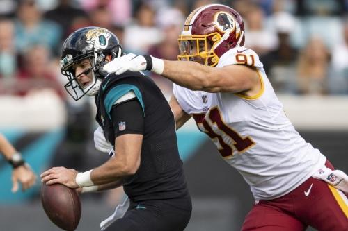 Skins Stats & Snaps: Redskins @ Jaguars (Defense/ST)