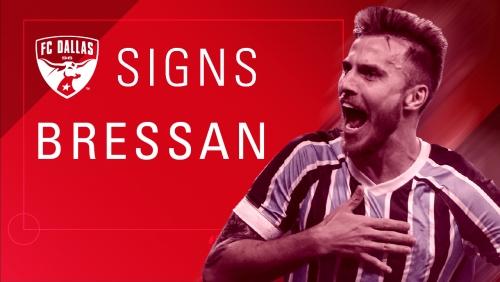 FC Dallas signs Brazilian defender Bressan