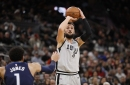 Spurs stay hot, light up Timberwolves