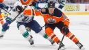 Oilers' Jesse Puljujarvi returns to top line more comfortable in his game