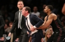 Kenny Atkinson fined $25,000 for fourth quarter outburst