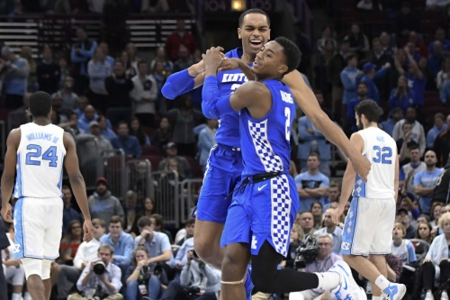 Social media reactions to Kentucky's great win over the Tar Heels