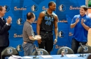 Mark Cuban and Harrison Barnes discuss owner's recent comments on youth basketball culture before Mavericks vs. Warriors