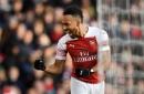 Pierre-Emerick Aubameyang and Mesut Ozil combine to get Arsenal back to winning ways