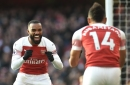 Ian Wright explains Alexandre Lacazette reaction after row with Arsenal teammate