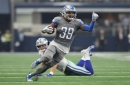 Jamal Agnew back for Detroit Lions today; Teez Tabor inactive again