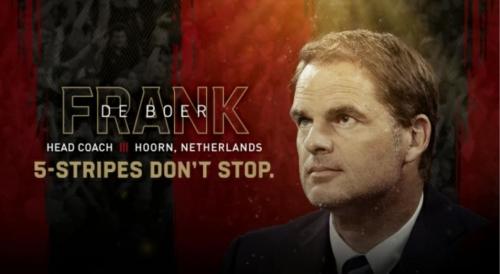 GOING DUTCH: Atlanta hire Frank de Boer as head coach