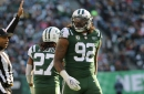 Jets' Leonard Williams ejected from Packers game for throwing a punch