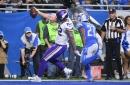 Vikings' Kyle Rudolph made it look easy against Detroit