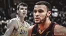 Larry Nance Jr. reacts to Ivica Zubac's big game vs. Warriors