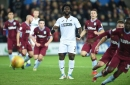Swansea City boss Graham Potter on Wilfried Bony's saved penalty and why Oli McBurnie didn't take it