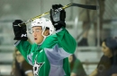 From hundreds of shots on a wooden goalie to the NHL:Gavin Bayreuther has given the Stars another decision to make