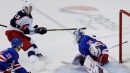Dubois, Blue Jackets beat Rangers in OT for 5th straight