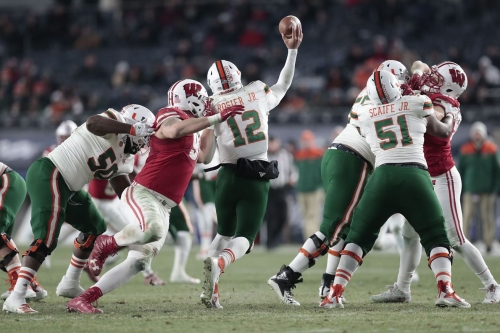 Pinstripe Bowl Film Review: Miami 3 - Wisconsin 35