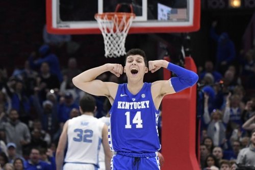Kentucky rises in latest ESPN bracketology