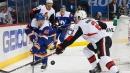 Barzal helps Islanders rally for win over Senators