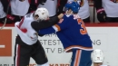 Senators, Islanders engage in three fights in last 30 seconds of game