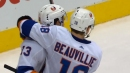 Mathew Barzal torches Maple Leafs with natural hat trick