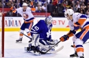 Leafs fall flat as Barzal leads Islanders to win with natural hat trick