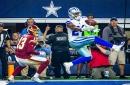 WATCH: Cowboys CB Chidobe Awuzie, DT Antwaun Woods intercept Eli Manning on Giants' first 2 drives