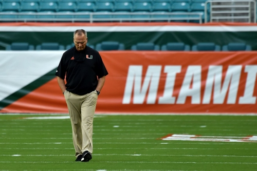 BREAKING: Miami's head coach Mark Richt retires after just three seasons