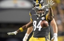 Steelers receiver Antonio Brown, two other starters ruled out vs. Bengals