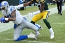 Detroit kicker Matt Prater throws 8-yard touchdown pass in blowout of Green Bay
