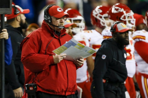 NFL announces playoff schedule, time for Chiefs' first game