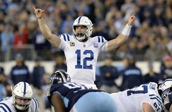 Colts earn playoff spot; Luck remains perfect vs. Titans