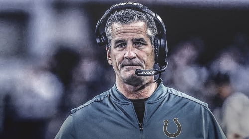 Colts coach Frank Reich says he never thought Indianapolis was a 'rebuild'
