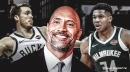 Giannis Antetokounmpo, Pat Connaughton posts message for The Rock