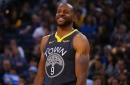 Andre Iguodala Fined For Throwing Ball Into Moda Center Crowd