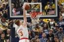 Hawks fall short against Pacers despite encouraging effort