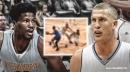 Video: Nuggets' Mason Plumlee pushes Malik Beasley too hard in Shaqtin' A Fool moment