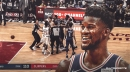 Jimmy Butler's hilarious exchange with reporter over technical foul