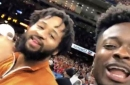 Marquise Goodwin enjoyed the Sugar Bowl with Earl Thomas
