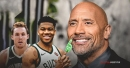 The Rock responds to message from Giannis Antetokounmpo, Pat Connaughton