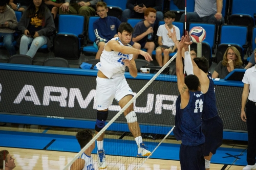 #2 UCLA Men's Volleyball Opens the Season Against Princeton