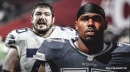 Cowboys' Zack Martin and Tyron Smith limited in practice