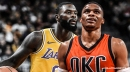 Thunder star Russell Westbrook says he wasn't intentionally trolling Lance Stephenson with air guitar celebration