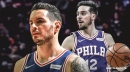 J.J. Redick now sits next to T.J. McConnell during flights to avoid anymore trades by Philadelphia