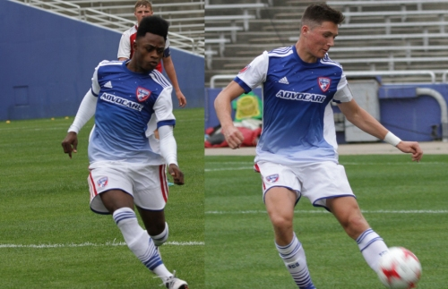 North Texas SC signs Damus and Evans