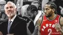 Video: Kawhi Leonard, Spurs coach Gregg Popovich embrace after game