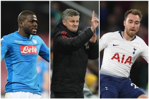 Manchester United transfer news LIVE Christian Eriksen and Kalidou Koulibaly latest updates