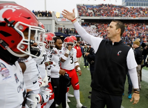 Reports: WVU chooses Troy's Neal Brown, Luke Fickell to stay at University of Cincinnati